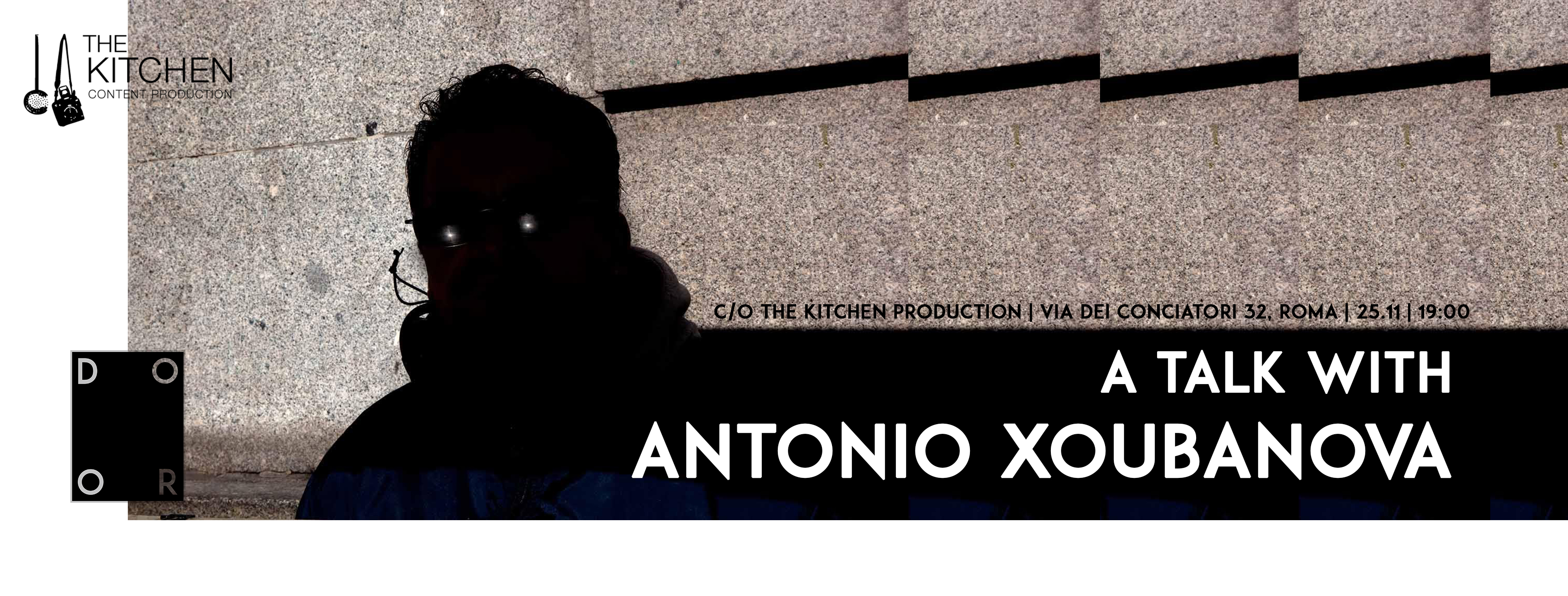 A TALK WITH ANTONIO XOUBANOVA