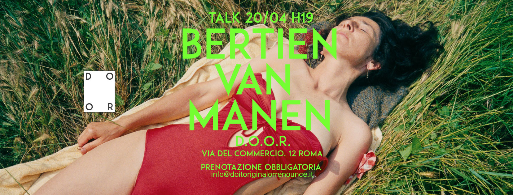 A TALK WITH BERTIEN VAN MANEN