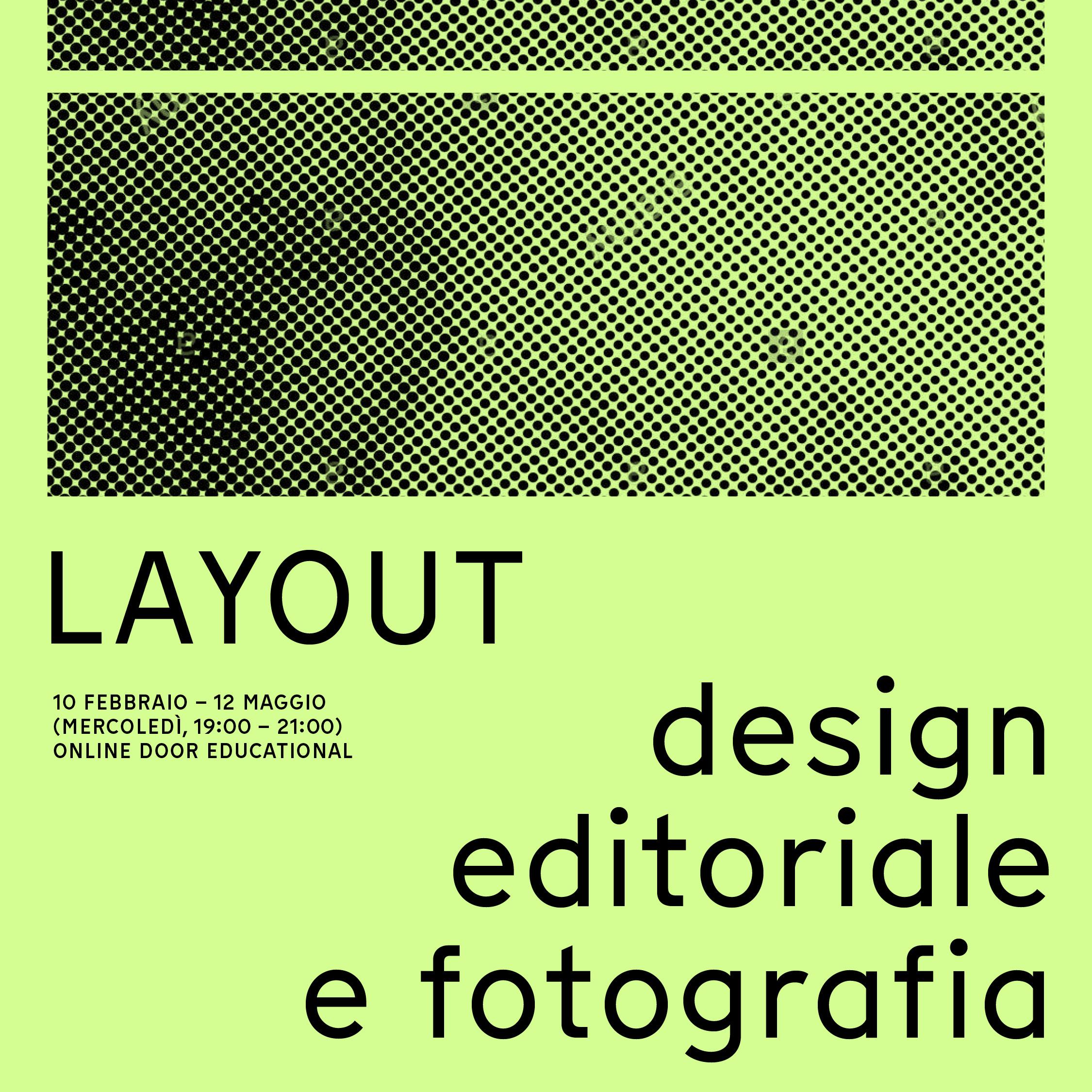LAYOUT:Design editoriale per la fotografia