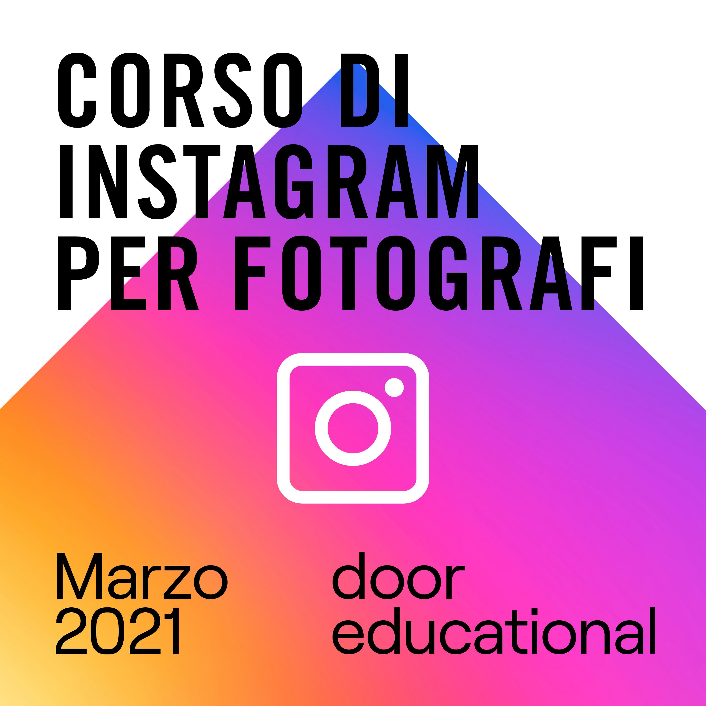 Corso di Instagram per fotografi